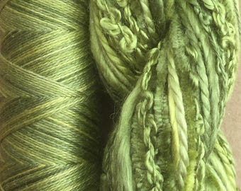 Silk Harmony, Embroidery Thread Selection and Silk Machine Thread, Embroidery Threads, Quilting Thread,  No.82 Chartreuse