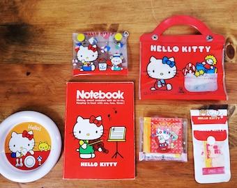 Vintage Sanrio Hello Kitty Set