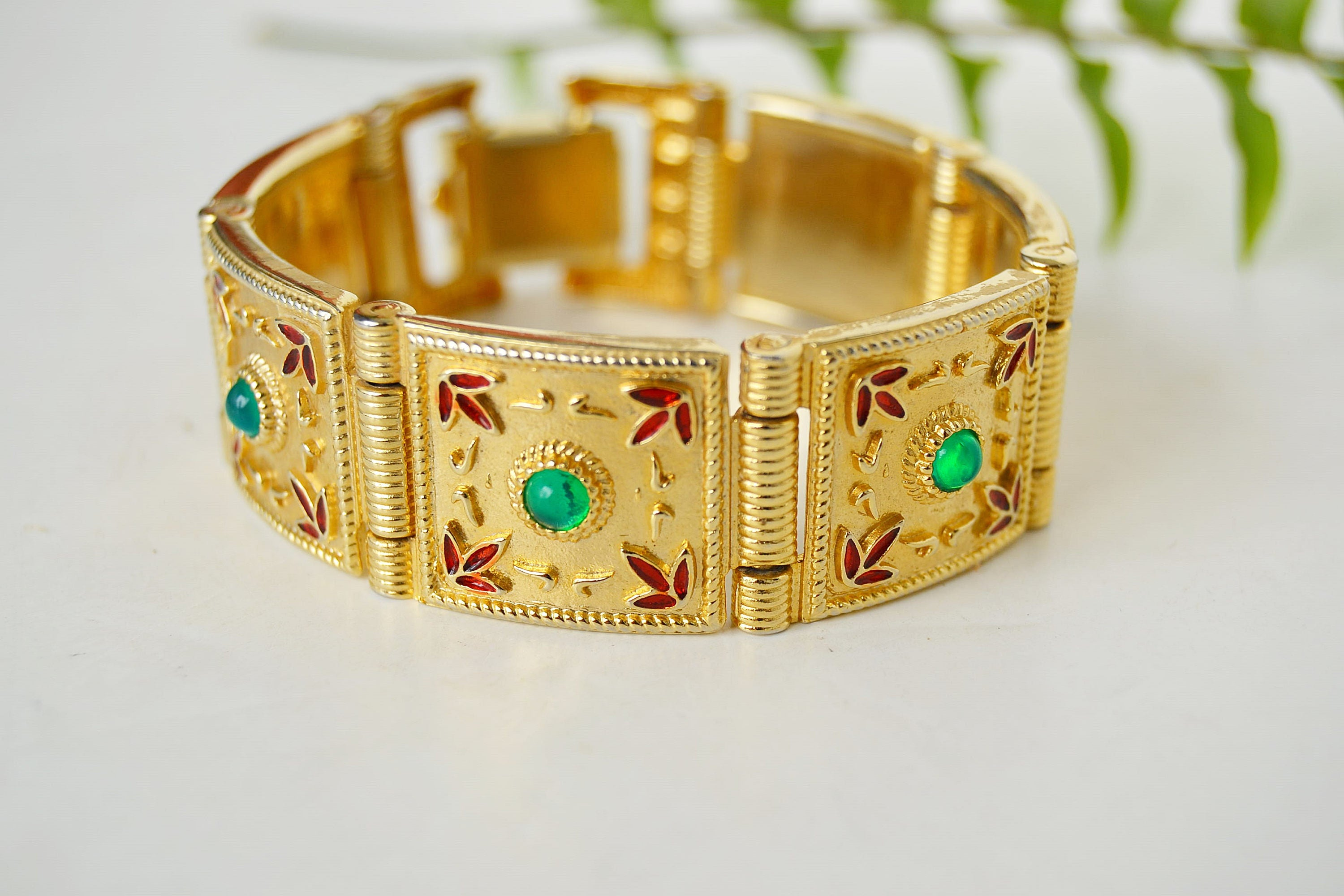 party fullxfull gift gold flowers wide with vintage christmas woman il p bracelet