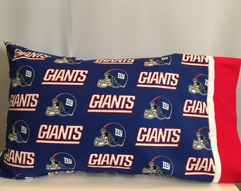 New York Giants pillowcase