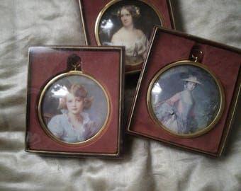 Miniature Brass Portrait Pictures , Peter Bates