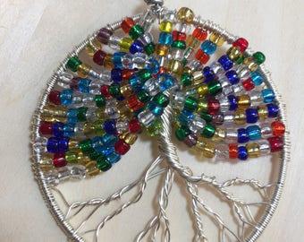 Large tree of life pendant
