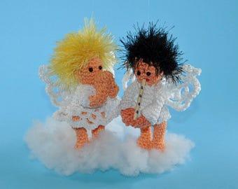 angel Elias and Eleni crochet pattern