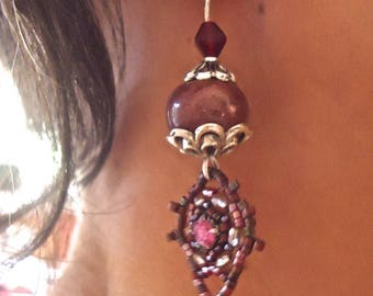Madame Rose model only made in FRANCE earrings