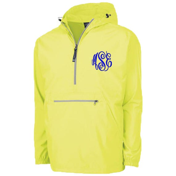Monogram Rain Jacket Pack N Go Monogram Pullover Hooded Rain