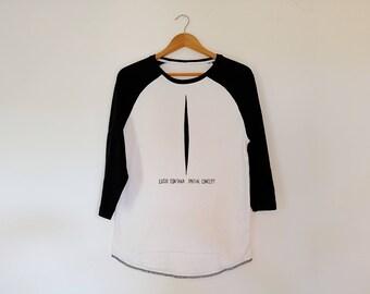 Lucio Fontana Unisex Baseball Tshirt 3/4 Sleeve