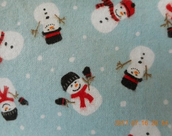 Frosty Snowman Pillowcase
