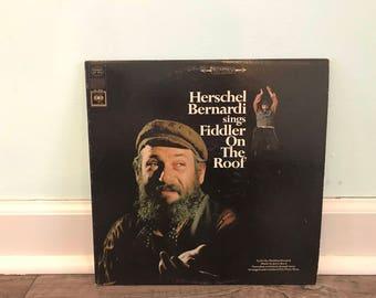 Fiddler on the Roof vinyl record