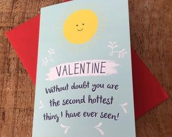 Funny Valentines Card, for Boyfriend, cute Valentine card, sweet valentine, Valentine for Him, Lesbian Valentine, Gay Valentine