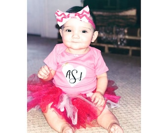 Baby Girl Outfit | TuTu | First Birthday Outfit | Little Girl Outfit