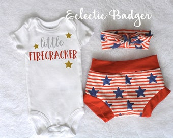 Independence day baby girl outfit 4th of July Coming home outfit summer Baby girl outfit summer Going home outfit July 4th outfit baby girl