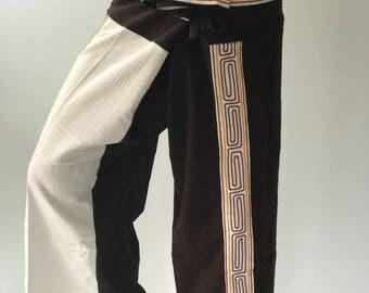 FC0004 Unique Fisherman pant thai yoga pant pants men's Fashion fit for all