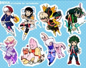 Boku No Hero Academia Sticker Sheet