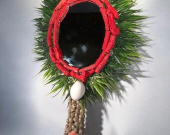 Mermaid Coral Mirror