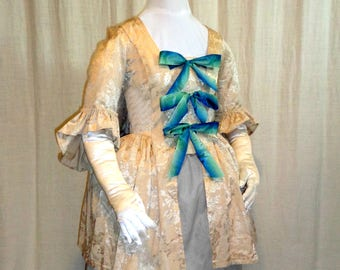 18th Century Lady's Sack-back Colonial Jacket