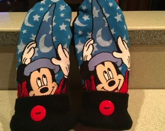 Mickey Mouse sorcerer mittens