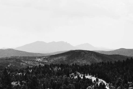 Brainard Overlook Black and White Fine Art Photography Print
