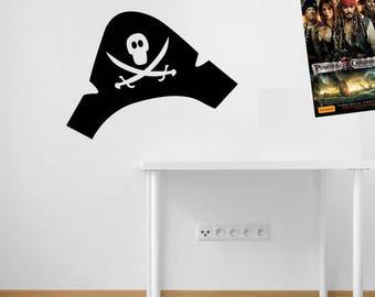 Pirate Hat Cap Pirate Treasure Stickers A51