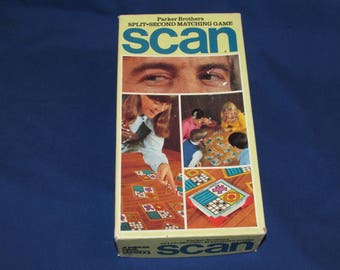 SCAN GAME Parker Brothers 1970
