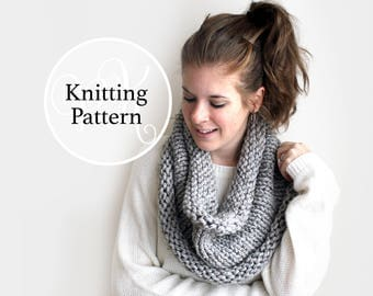 Knitting Pattern Tangier Cowl Instant Download