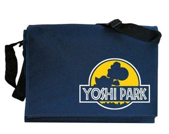 ON SALE Yoshi Park Navy Blue Messenger Shoulder Bag