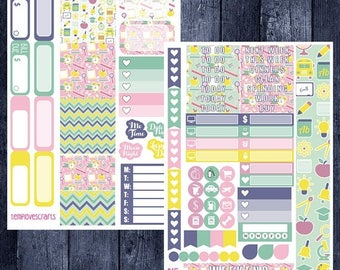 School Days Kit for Personal Planner