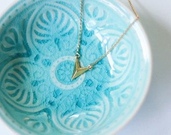 Direction - Gold & Silver Arrow Necklace
