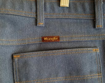 Wrangler Jeans Pants Sta Prest Made in USA 38x30 1970s