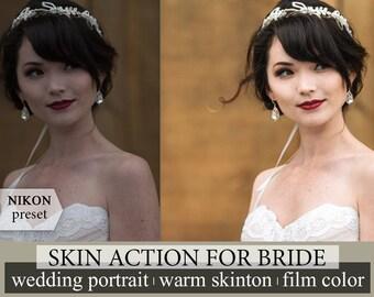 ACR Photoshop Action Portrait Preset Lightroom Skin Tones Preset Wedding Lightroom Preset Nikon VSCO Film Preset True Color Lightroom Clear
