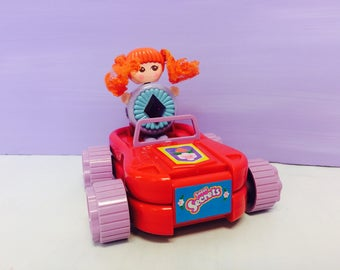 Sweet Secrets Toy, Brush Car Set, Gleamie Doll, Transforming Jewelry, Galoob Toys, Transforming Toys, Vintage Toys, 1980s Toys, Playset