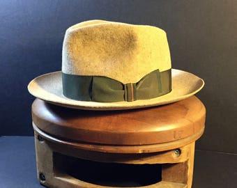 Fur Felt Hat Size 7 1/8 57cm