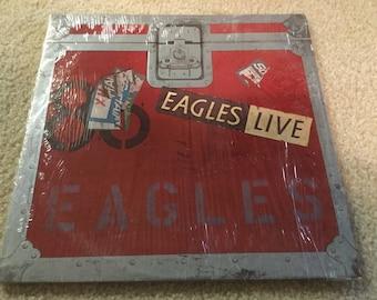 The Eagles Live 2 LP Vinyl Record Don Henley  Glenn Frey