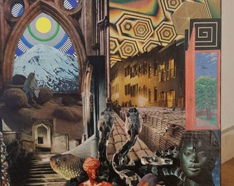 "Handmade cut & paste collage ""Stepchildren of the sun"""