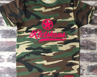 Camouflage shirt chatterbot