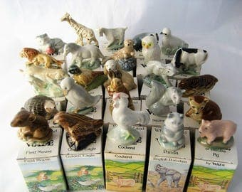 Wade Whimsieland 1984-88 Complete Set of 25 all Boxed (Perfect)