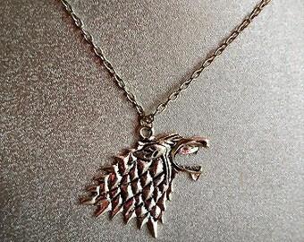 direwolf 24 inch necklace