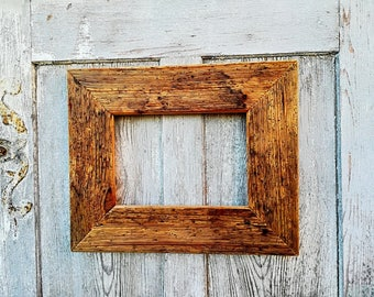 Old wood picture frame 46x38