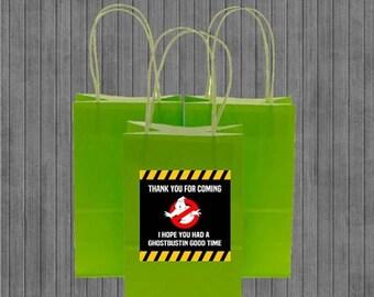 FLASH SALE Ghostbuster Favor Tags