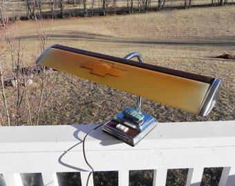Chevy Desk Lamp - Vintage Electric Goose Neck Light