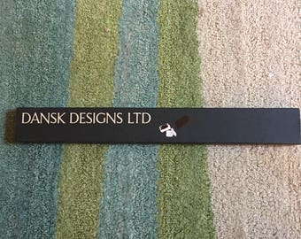 Dansk Designs Ltd Red Tiny Taper Candles New in Box Set of 12 Style 1861 1/4 x 16 Length Vintage Slender Slim Candles Mid Century Modern