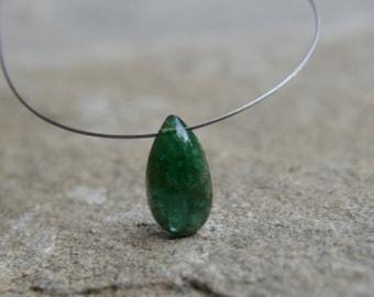 Genuine Emerald Briolette Destash