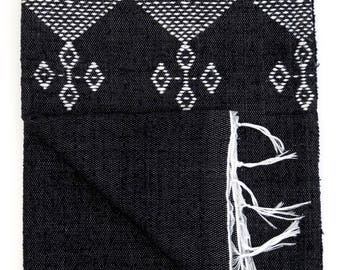 Moroccan Embroidered Blanket