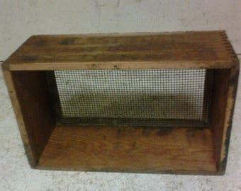 Wooden screen