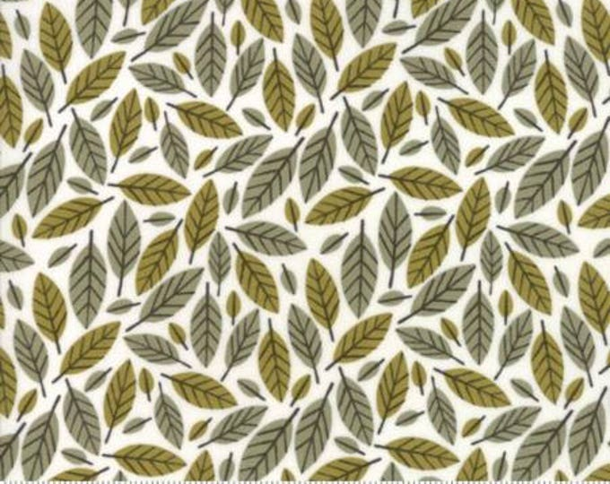 Beech Leaf in Stone- Big Sky by Annie Brady for Moda