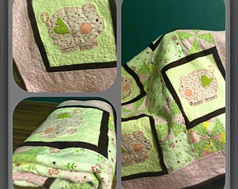 Customizable baby quilts
