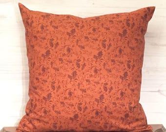 Fall pillow - Fall decor - Autumn pillow - Autumn Decor - Leaf pillow - Seasonal pillow - Throw pillow - Sofa pillow