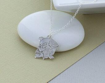 Decorative Skull Necklace