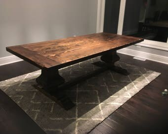 Reserved:Deposit for Gabrielle's Custom Farmhouse Table and Bench