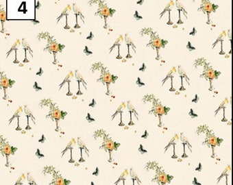 6 new 1930s 40s & 50s dolls house wallpaper lovely mix- quality paper from a well established company!