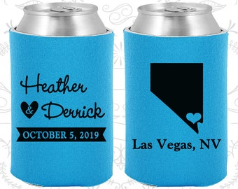 Neon Blue Wedding, Neon Blue Can Coolers, Neon Blue Wedding Favors, Neon Blue Wedding Gift, Neon Blue Party Decorations (127)
